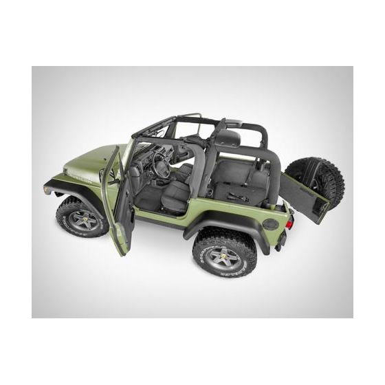BedTred Jeep Wrangler Floor Liners