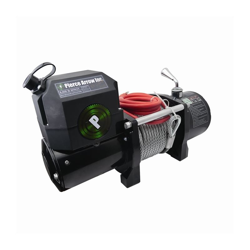 Winch | 6,000 lb | 12 Volt | PIERCE Recovery Serie