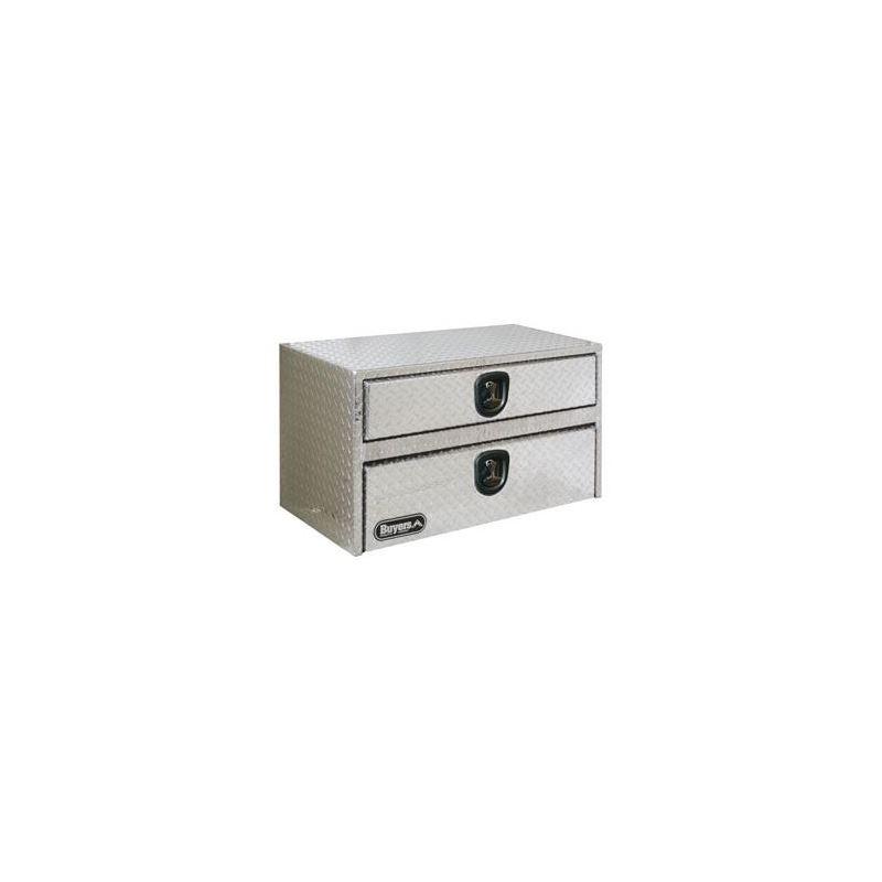 Aluminium Underbody Tool Box with Drawer 20 H x 48